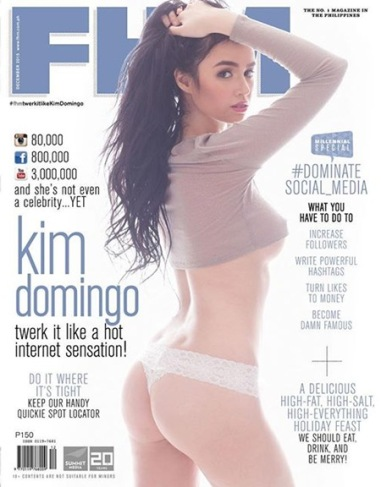 Kim Domingo - FHM December 2015[7]